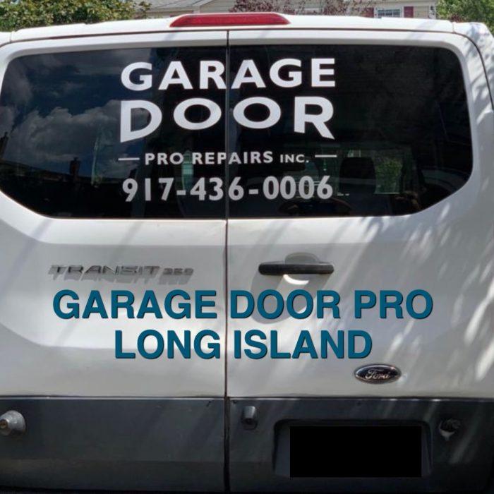 Van garage door 1